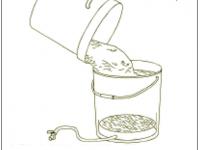 04. Maische in Läuferbottich umfüllen