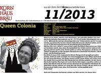 2013.11 Queen Colonia