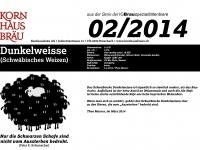 2014.02 Dunkelweisse
