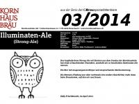 2014.03 Illuminaten Ale