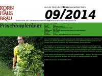 2014.09 Frischhopfen