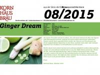 2015.08 Ginger Dream