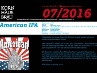 2016.07 American IPA